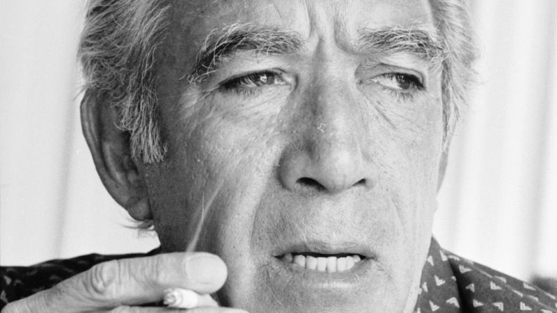 Anthony Quinn (foto di Graham Morris)