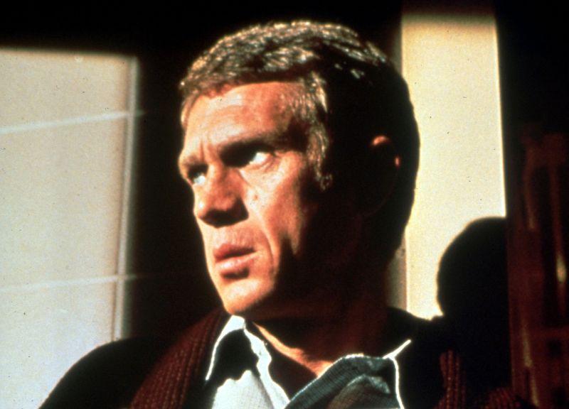 "Steve McQueen in ""Bullit"""
