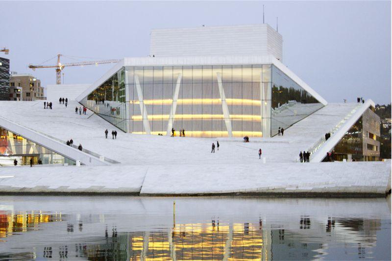 """""""L'Opera House di Oslo"""" - Margareth Olin"""
