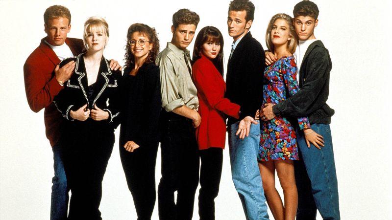 """Il cast delle prime stagioni di """"Beverly Hills 90210"""""""