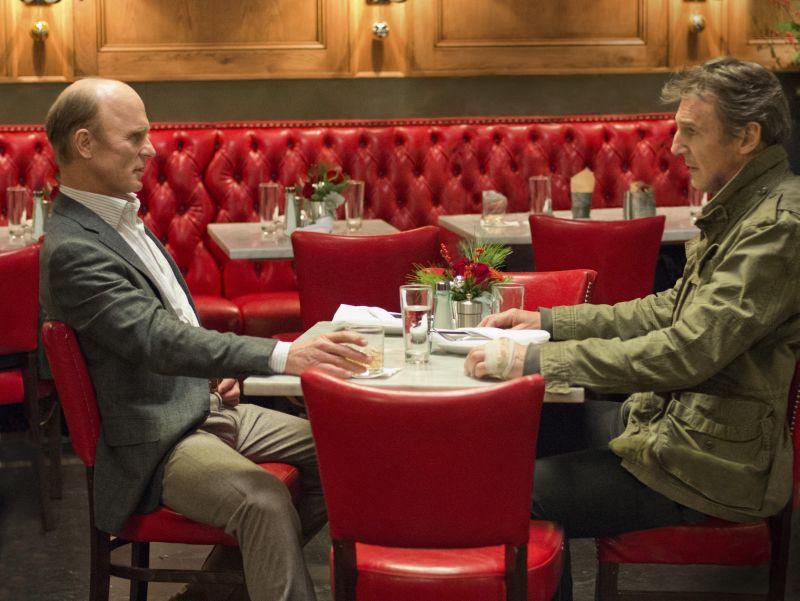 Ed Harris e Liam Neeson (foto di Myles Aronowitz)