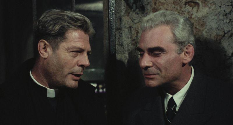 Marcello Mastroianni con Gian Maria Volonté