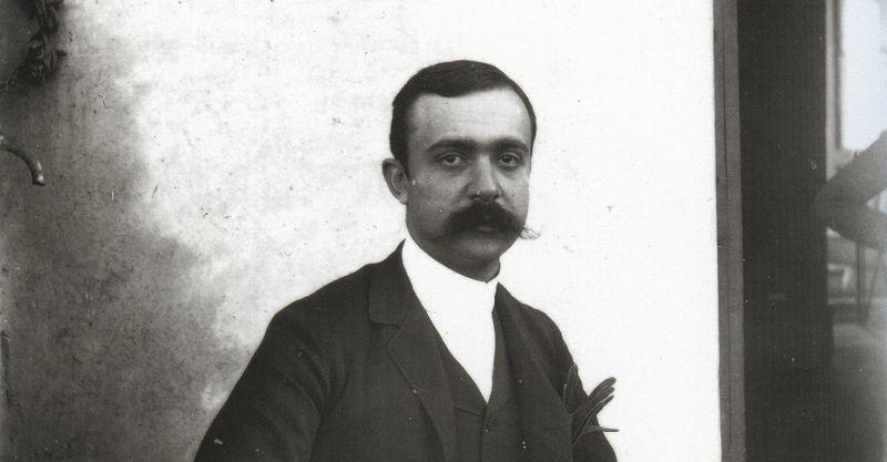 Federico De Roberto (foto Giovanni Verga)