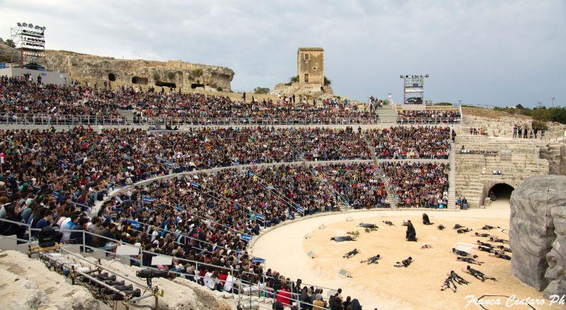 Il Teatro Greco di Siracusa (foto di Franca Centaro)