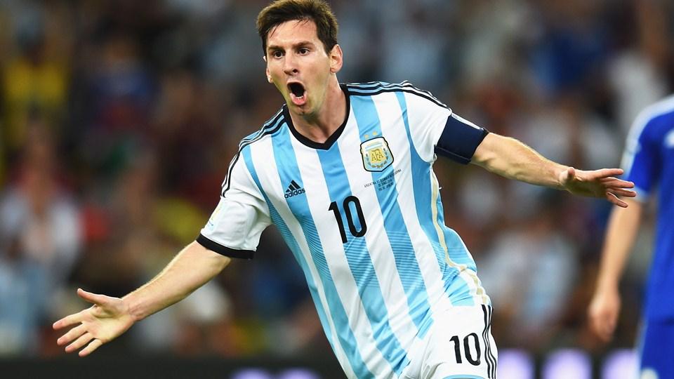 Con la Nazionale Argentina