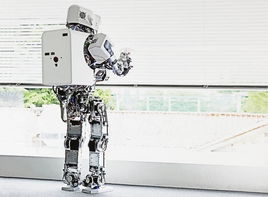 Vincent Fournier Kobian Robot #1 (Takanishi Laboratory), Waseda University, Tokyo, Japan, 2010/2013 Robot Kobian #1 (Laboratorio di Takanishi), Università Waseda, Tokyo, Giappone C-print 133 x 103 cm © Vincent Fournier
