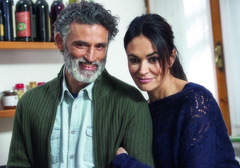 Enrico Lo Verso con Maria Grazia Cucinotta