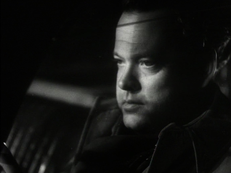 "Orson Welles in ""Return to Glennascaul"""