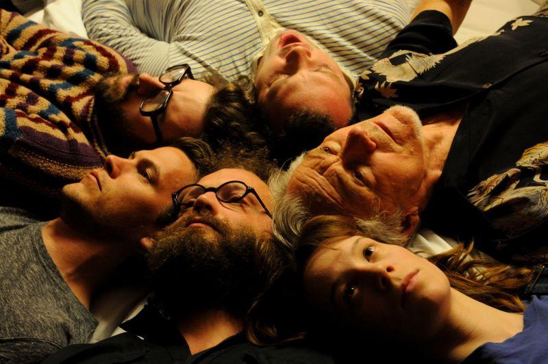 Harvey Keitel con Chloe Pirrie, Mark Gessner, Nate Dern, Tom Beckett e Tom Lipinski (foto di Gianni Fiorito)