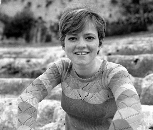 Giovanissima nel 1967 (foto Olycom)
