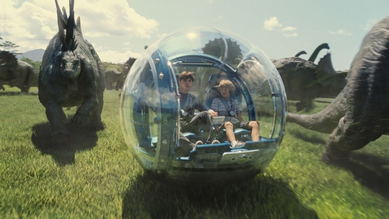 In viaggio dentro il Jurassic World (foto  ILMUniversal Pictures and Amblin Entertainment)