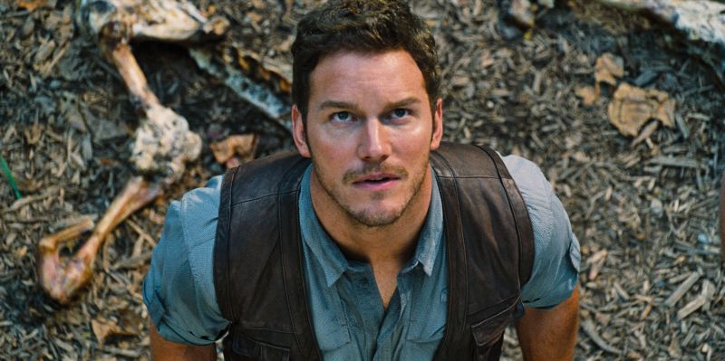 Chris Pratt è (foto Universal Pictures and Amblin Entertainment)