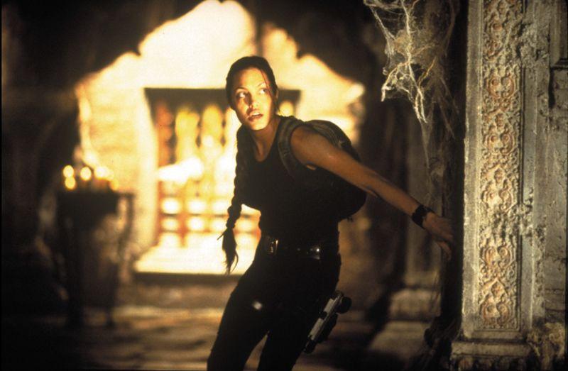 Nei panni dell'eroina Lara Croft