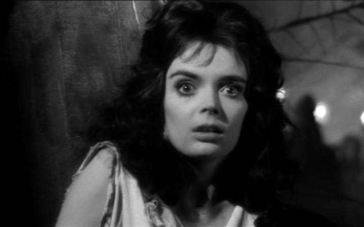 "Barbara Steele ne ""La Maschera del Demonio"""