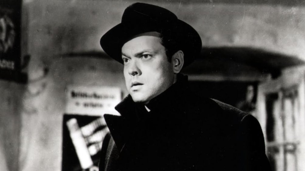 """Orson Welles in """"Il Terzo Uomo"""""""