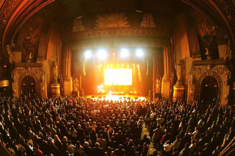Nas al Beacon Theatre (foto di Hennessy)