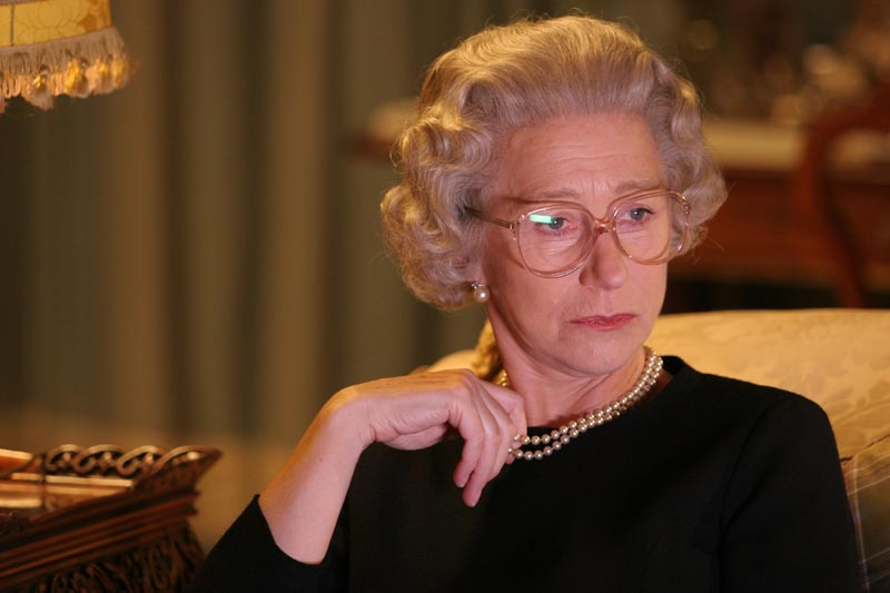 "Helen Mirren nella sua prova da Oscar in ""The Queen"""