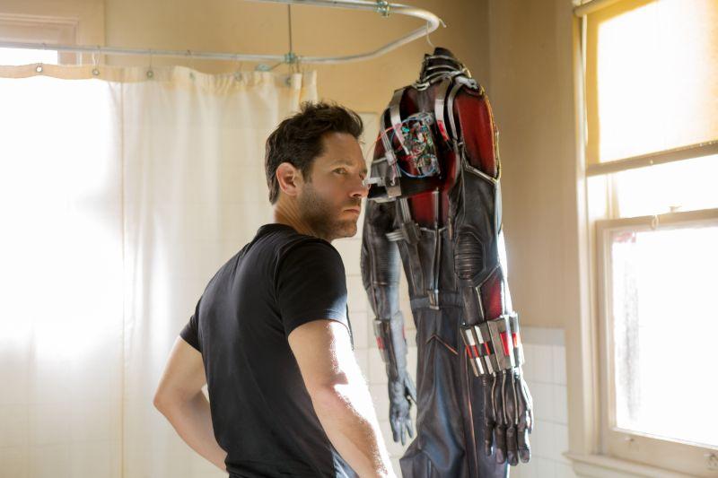 Scott Lang è Ant-Man (foto di Zade Rosenthal © Marvel 2014)