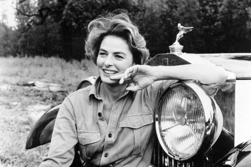 Una splendida Ingrid Bergman