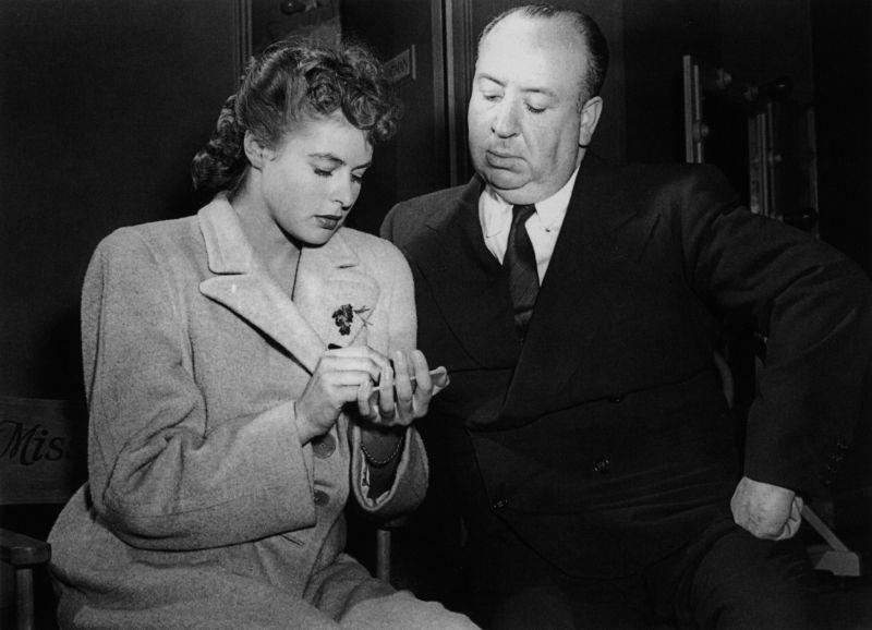 """Con Alfred Hitchcock sul set di """"Io Ti Salverò"""""""