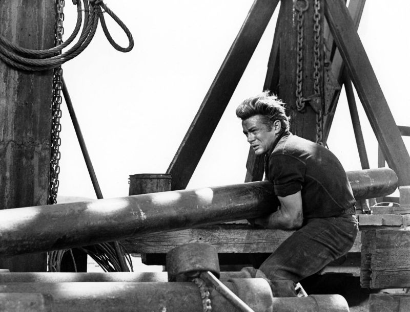 "James Dean ne ""Il Gigante"""