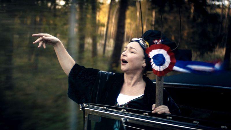 Marguerite canta