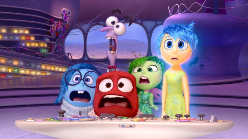 Le cinque Emozioni (©2015 Disney•Pixar)