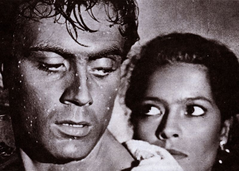 """Ettore Manni e Kerima ne """"La Lupa"""" di Alberto Lattuada"""