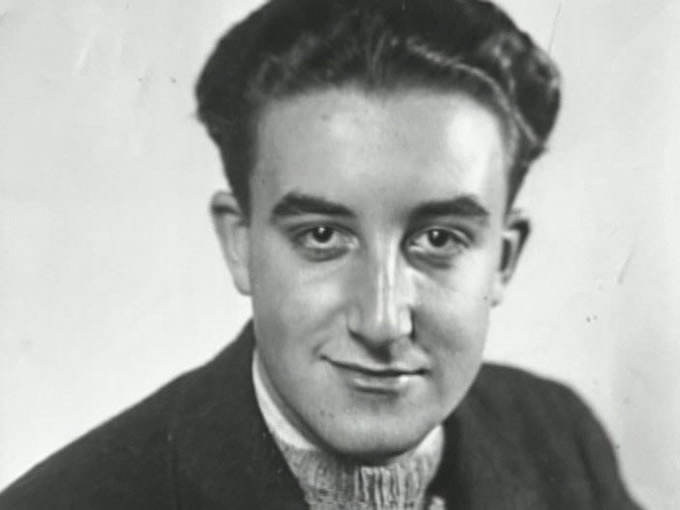 Un giovane Peter Sellers