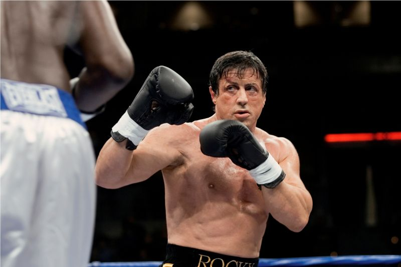 "Stallone in ""Rocky Balboa"""