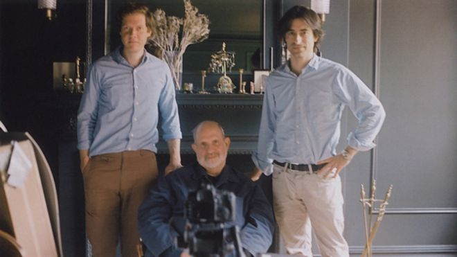 Noah Baumbach e Jake Paltrow con Brian De Palma