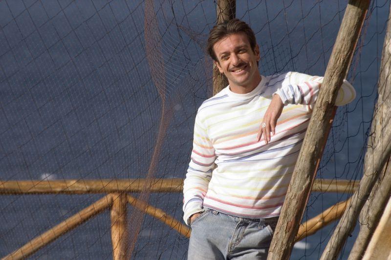 """Sul set di """"Capri"""" (foto di Gianni Fiorito)"""