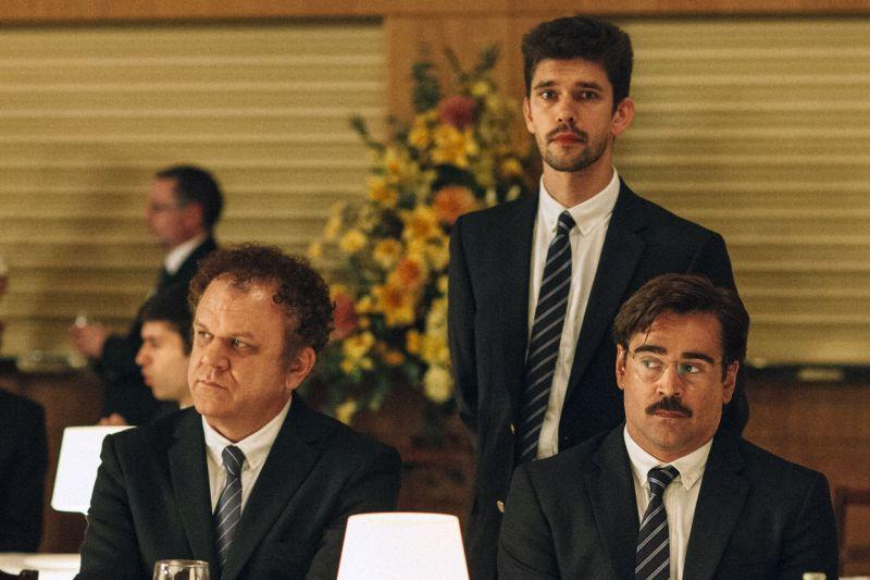 John Reilly, Ben Whishaw e Colin Farrell (foto di Despina Spyrou)