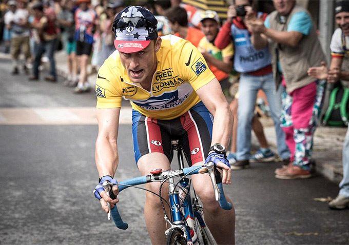 Ben Foster è Lance Armstrong