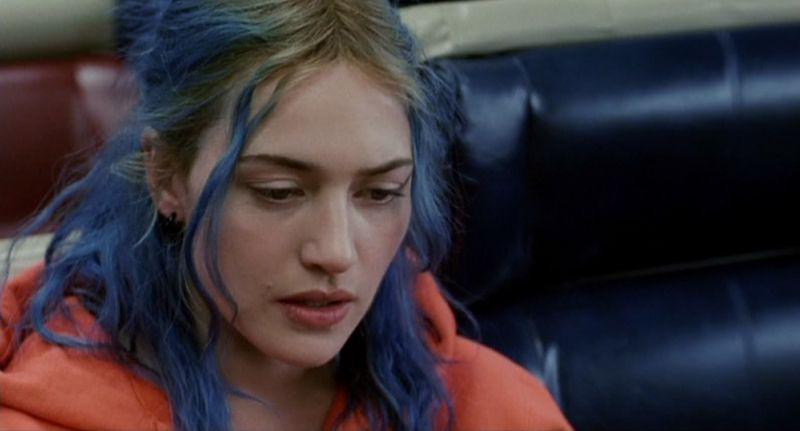 "Nel film cult ""Eternal Sunshine of the Spotless Mind"""