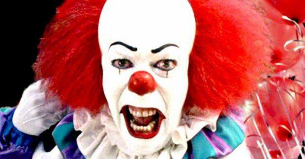 "Tim Curry nel film tv ""IT"""