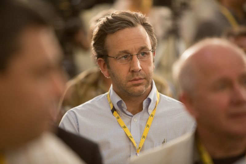 Chris O'Dowd è il giornalista David Walsh