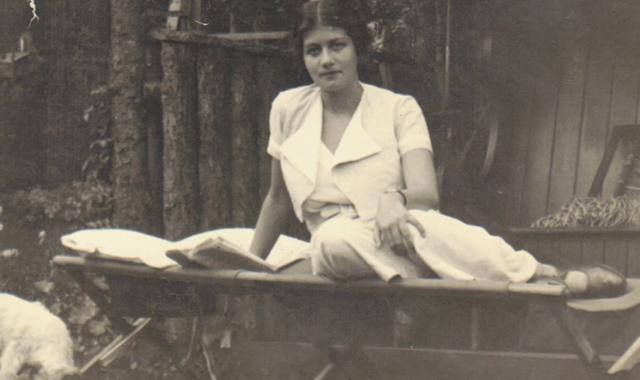 Una giovane Maria Altmann