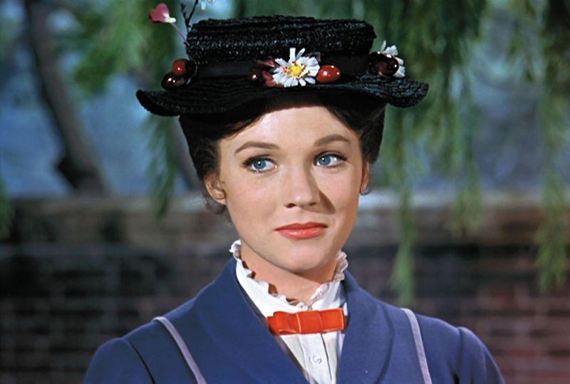 """Nei panni della celeberrima """"Mary Poppins"""" (1964)"""