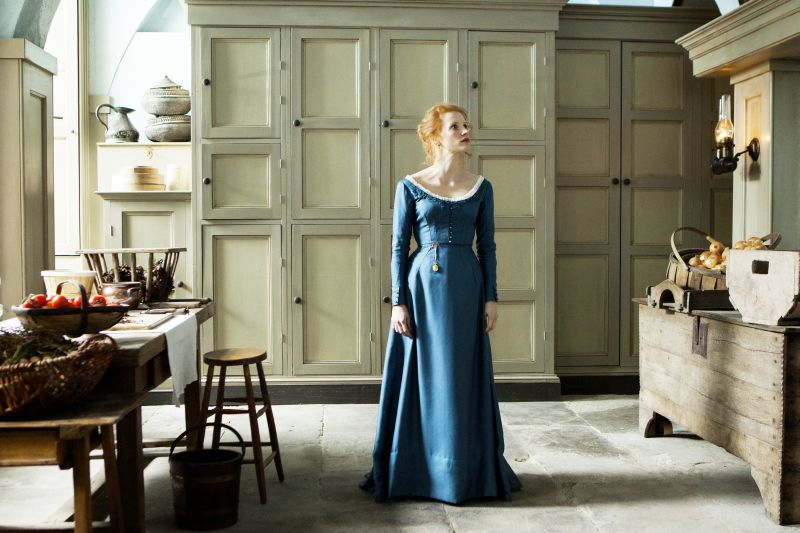 Jessica Chastain è Miss Julie