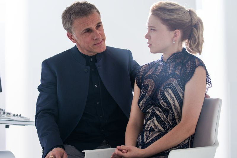 Christoph Waltz e Leå Seydoux