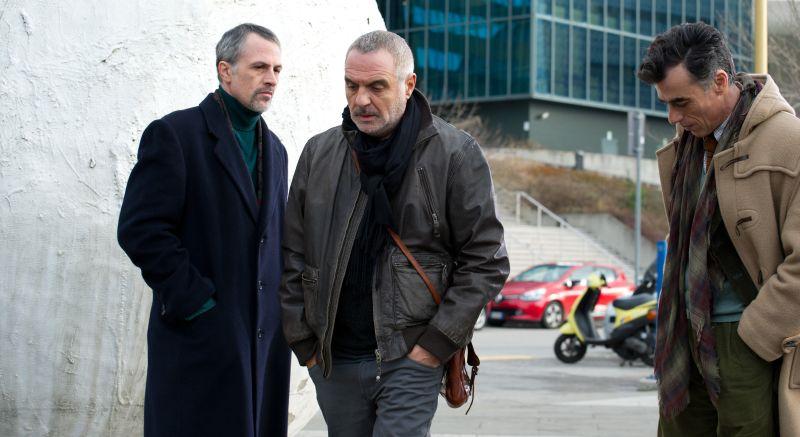 Fabrizio Ferracane, Giorgio Panariello e Thomas Trabacchi