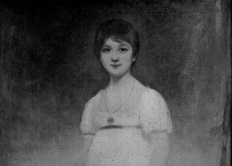 Un ritratto di una giovanissima Jane Austen