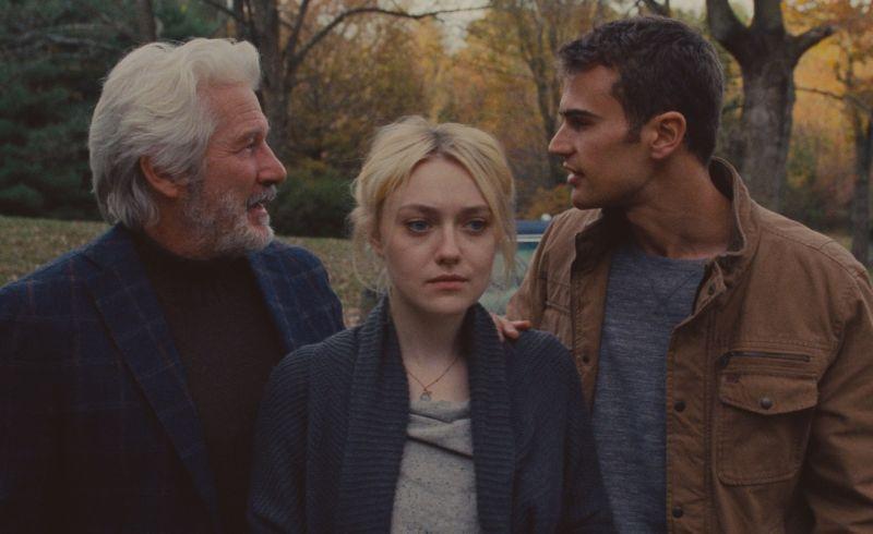 Richard Gere, Dakota Fanning e Theo James