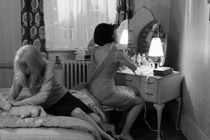 Carol e sua sorella Hélène