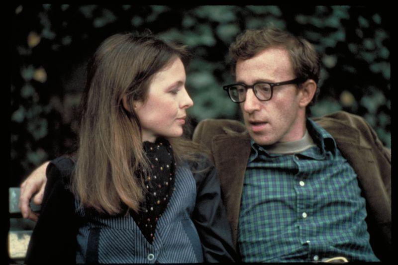 """Con Diane Keaton in """"Io e Annie"""""""