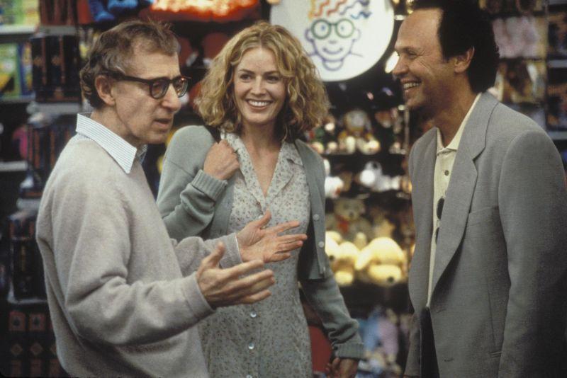 """Durante le riprese di """"Harry a Pezzi"""" (1997)"""