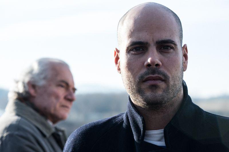 Giorgio Colangeli e Marco D'Amore, i due protagonisti del film