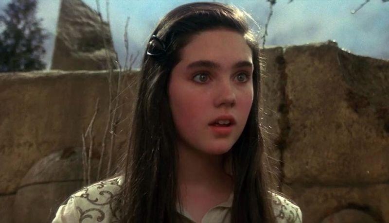 La giovane Jennifer Connelly è Sarah