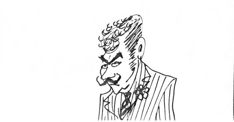 Una vignetta di Ettore Scola